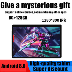 Tablet PC 10.1 Inch Android 9.0 10core RAM 6GB ROM 128GB IPS 4G Lte Phone Call Option Card Wifi GPS Bluetooth