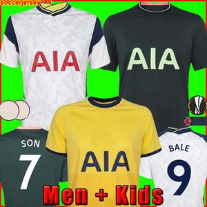 20 21 BALE maillots de football maillot de foot KANE Hojbjerg Bergwijn LO 2020 CELSO éperons 2021 LUCAS DELE SON chemises uniformes hommes + kit enfants enfant de la
