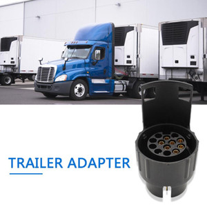 Automobile Interior Decoration Parts Car Trailer Truck 13Pin to 7Pin Plug Adapter 7 Pin to 13Pin Converter Tow Socket