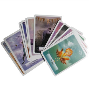 Conseil de divertissement Oracle Tarot Jeu Game Party Fun Wisdom Cartes Feuilles 52 52 Feuilles Cartes XoPOe sweet07