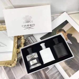 Credo Hot Creed Fragrância Set 30ml * 3 pcs Kits de fragrância portátil de longa duração Gentleman perfume conjuntos incrível cheiro frete grátis