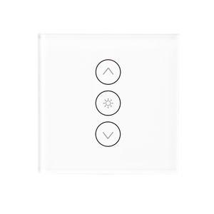 EU / UK WiFi Смарт Wall сенсорный свет диммер Смарт Life / Туя APP дистанционного управления с работы Amazon Alexa и Google Главная