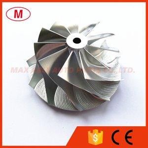 GT15 25 53,53 / 69.00mm 11 + 0 cuchillas rueda Turbo Billet Compresor / Aluminio 2618 / rueda de fresado para CHRA / Core