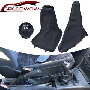 Gear Lever Shift Knob Handbrake Gear Gaiter Dust Cover Case Anti Slip Boot For Opel Astra II Zafira A 98-10 COMBO C 01-11