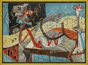 Jackson Pollock Stenografik Şekil Ev Dekorasyonu Handpainted HD Yağı 7172 tarihinde Tuval Wall Art Canvas Resimler Boyama yazdır