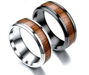 Из нержавеющей стали инкрустированные зерна кольца Vintage Titanium стальные кольца браслеты Персонализированные кольца мужские оптом