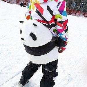 Adulte Enfant Patinage Snowboard Hip Protection Mignon Protection de surf des neiges Panda matériel de ski enfants Pad Hip Pad genou