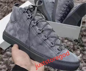 2020 men's classic leather ladies arena brand flat sneakers Hococal high-top men's fashion trend casual lace-up shoes size 36-45
