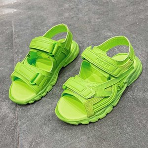 2020 Baby Boy Sandals Black Green Pink Infant Girl Sandals Toddler Summer Walking Shoes Sport Casual Sneaker Beach Shoes