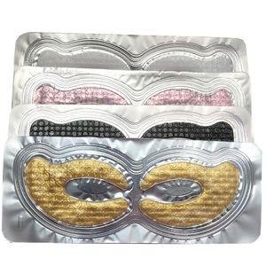 Le collagène de cristal Masque pour les yeux Correctifs pour les sacs cernes rides sombres Éclaircir Ridules profondes hydratantes Pads yeux