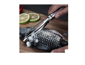Steel Wire Fish Scale Shave Scrape The Scales Off a Fish Skin The Fish