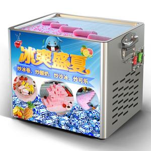 Новый дизайн поколения Fried Rolls Mini Ice Cream Ролл дизайн Maker Machine логотип