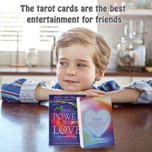 Board Playing The Family Holiday Spiele Karten 44 PC-Karten-Karten Deck von Tarot Tarot-Liebe Grußkarten Party-Aktivierung Energie bbytMs bdehome