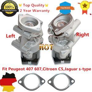 AP02 2 units Left & Right EGR Valve For Peugeot 407 607 Citroen C5 C6 Jaguar S Type 1316149,1618.N7 C2C40184,1618.N6,1618QF