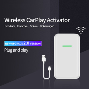 CarPlay Wireless Activator for Volvo Audi Porsche Wolkswagen Original car with CarPlay Wireless Carplay Adapter