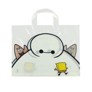 seçim için plastik alışveriş çantaları hediye takı çanta 4 boyutları çanta ambalaj Güzel çocuk karikatür çanta ayakkabı elbise