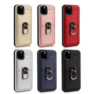 Shield Armor Shockproof Case Phone Back Cover for iphone 11pro max 6 6Splus Military Drop Tested Silicon TPU Case for iphone 12