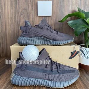 Comfort Mens Running Shoes Mulheres Melhor Sneakers Sports Kanye West Desert Sábio estática Terra Zyon Luz Traseira Cinder V2 com bola Tamanho 36-48