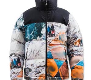 Cálido 20FW nieve Mountain Camp Nuptse chaquetas de invierno al aire libre a prueba de viento abrigos pan por la chaqueta Calle Outwear