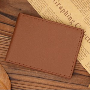 Fashion Men Wallet Money Clip Purse Wallet Male Clutch Purse Bag Thin Minimalist Handy Slim Short 2 Choices V6o7#