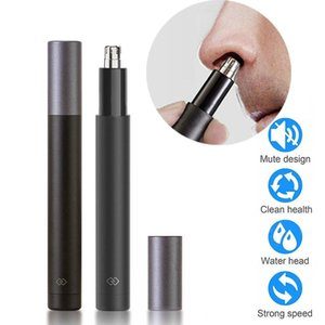 Mijia Nose Hair Trimmer and Ear Hair Trimmer Vacuum Cleaning System For Men's Nose Hair Trimmer IPX7 Waterproof