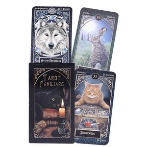Board Card 78pcs Entertainment Table Playing Familiars Divination Deck Tarot Fate Family Game Party Cards Games Tjmph sweet07