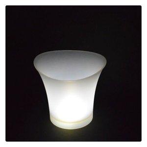 cgjxs leuchtende LED Eiskübel 7color Champagner Wein Getränke Bier Ice Cooler Für Restaurant Bars, Clubs Ktv Pub Party New 5l