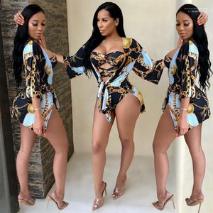 Womens Swimming Clothing Womens Designer 3D Print One Piece Sexy Hollow Out Swimwear Fashion Nature Color Beach Swimsuits