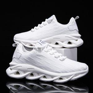 Combinazione Estate Volante tessuto Coconut scarpa scarpe Mesh traspirante scarpe da tennis casuali Scarpe da corsa Uomo Scarpe