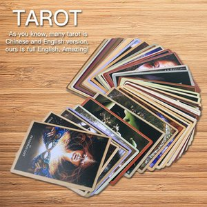 45 Sacred Oracle Tarot Cards English Version Deck Tarot Game Table Party Board Games Playing Card Divination Fate Entertainment bbyUnH