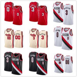 Männer Frauen Kinder Jugend Clyde 22 Drexler Carmelo Anthony 00 genähtes Basketball Jersey Mens Damian 0 Lillard CJ 3 McCollum Rip-Stadt-Hemd