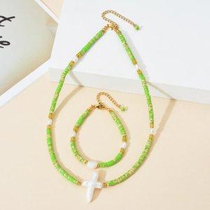 Роскошный Пресноводные природный жемчуг Choker Мода Заявление Bib Collare Boho Seed Beads Vintage Chic Collier Femme ожерелье ювелирных изделий