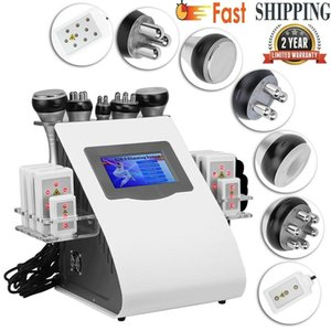 5IN1 40K Cavitation Ultrasound Weight Loss Vacuum Radio Frequency Lipo Laser Fat Removal Beauty Machine