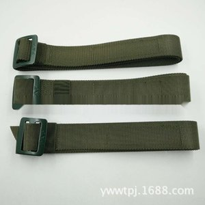 8CGyb 16-Stil gewebt Leinwand innere Trainingskleidung olivgrün taktische Inner Belt Training Nylon Leinwand Gürtel