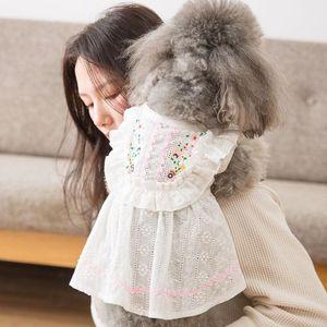 Tubino pattern principessa daisy vestiti del cane gatto pelo del cane cucciolo Natale Pasqua vestiti chihuahua pet puppy