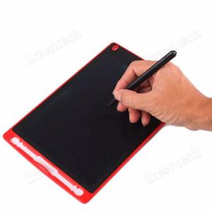 لوحة الكريستال السائل وحا 8.5 inchWritingTablet سبورة الكتابة اليدوية هدية للبالغين أطفال بلا أوراق المفكرة أقراص المذكرات مع القلم ورفع مستواها