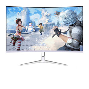27-inch curved 75Hz LED monitor S-PVA 1920 * 1080 Curved screen 1080P Gaming monitor Display VGA audio interface