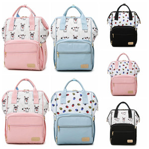 Waterproof Changing Nappy Mummy Maternity Nappy Bags For Baby Nursing Organizer Fashion Backpack Bags Bag Travel Stroller Diaper Rapbo