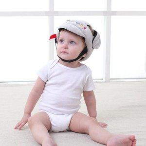 ARLONEET الطفل حماية غطاء الرأس طفل الرضيع تحطم كاب إسقاط المقاومة قبعة حارس قبعة جديد قبعة سلامة الطفل لطيف