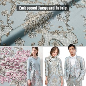Vintage Luxury Embroidered Fabric Chinese Style Brocade Satin Jacquard Fabric For Sewing Kimono Cheongsam Dress Patchwork Cloth