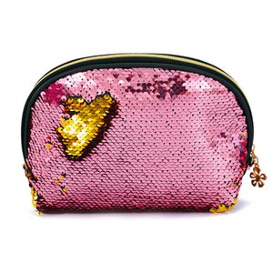 2020 New Mermaid Sequins Hands Bags Shell Shape Lady Evening Clutch Makeup Storage Bag Female Party Dress Bags Little Coin Purse