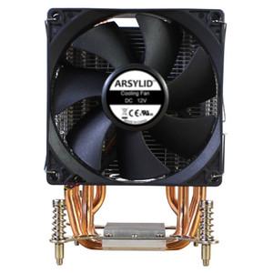 ARSYLID CZ-609P CPU Cooler ventiladores duales de 9 cm 90mm ventilador de refrigeración AM4 AM3 FM2 LGA1150 LGA1151 LGA2011 radiador