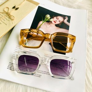 Gafas de sol de la vendimia HBK mujeres cuadradas gafas de sol de gran tamaño marca de diseño del marco manera de los hombres de lujo Champagne Sombras