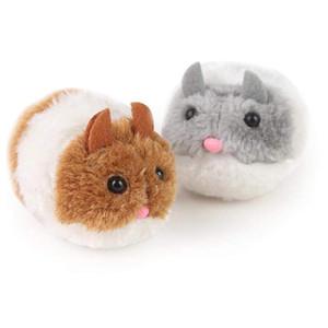 Jouets de dessin animé en peluche Vibrent un peu de graisse de la souris et des chiffres d'action de chat en peluche en peluche en peluche