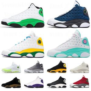 air jordan retro 13 13s JUMPMAN 2020 New Quality SatinJordan Flint 13 13s Soar Sapatos Verde Melo Classe Mens Basketball reverso Mulheres treinadores desportivos Sapatilhas