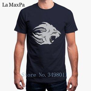 Мода Смешные Crusader Лев Футболка Костюм Мужчины Футболка 100% хлопок Прохладный Tee Shirt Man Male Plus Tops Размер