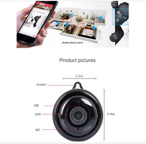 Surveillance par caméra sans fil le plus récent Mini caméra IP HD 1080P IR CCTV infrarouge Night Vision Micro Accueil Caméra de sécurité WiFi Baby Monitor