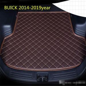 Car anti-skid trunk mat, waterproof leather carpet flat mat, flat mat suitable for BUICK ENVISION 2014-2019year