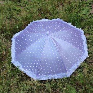 인형 우산 우산 야다 우산 수제 야외 스포츠 휴대용 아기 모자 도트 레이스 소녀 출생 헤드 캡 zQqRc의 bwkf 낚시 Yd153 캡