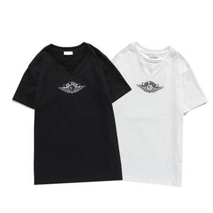Hip 2020 de la manera caliente de los hombres del estilista camisetas de los hombres de las mujeres Hop de manga corta de alta calidad de impresión de los hombres de la camiseta del Hairstylist